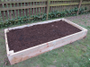 Finished Garden Bed Ready to Plant