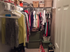 Before photo of Mandy's closet
