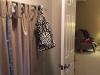 Before photo of Mandy's closet