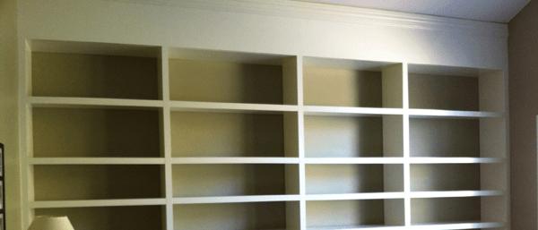 Build-In Bookshelves