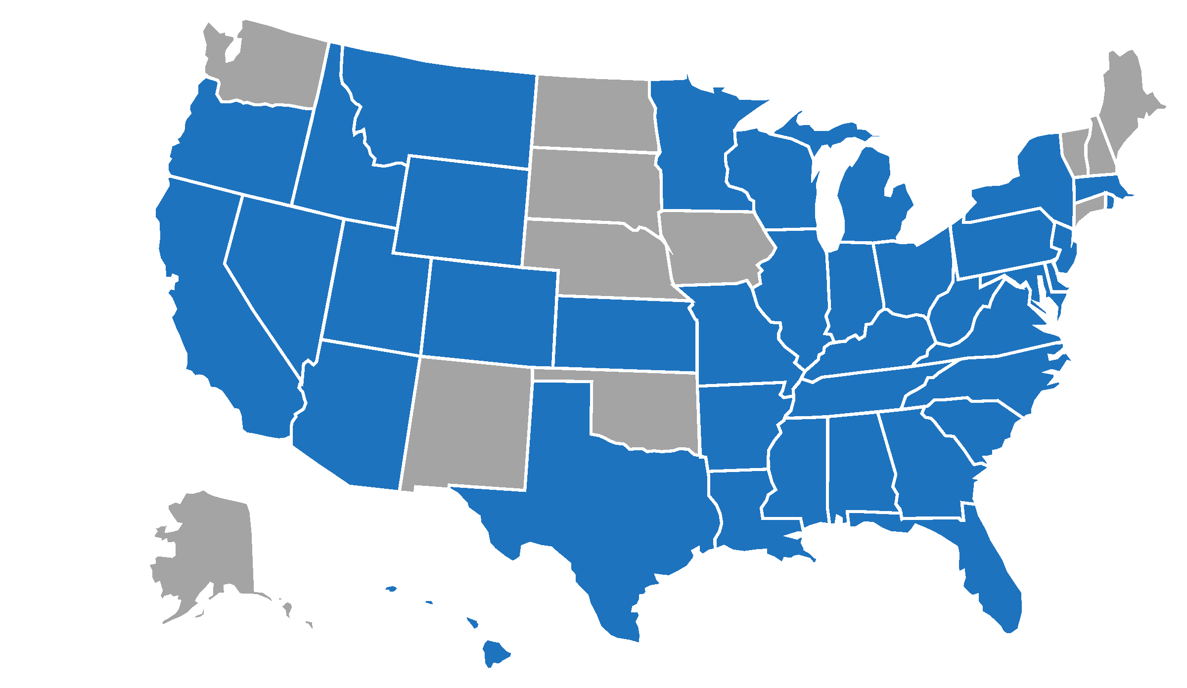 US States I've Visited